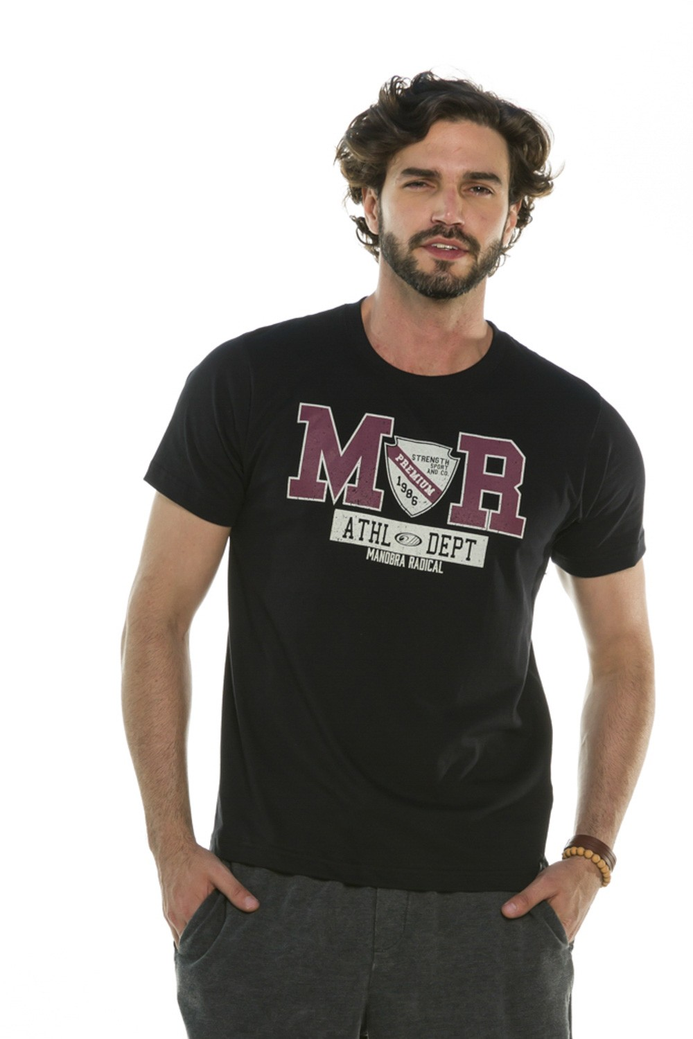 Camiseta Decote Redondo MR