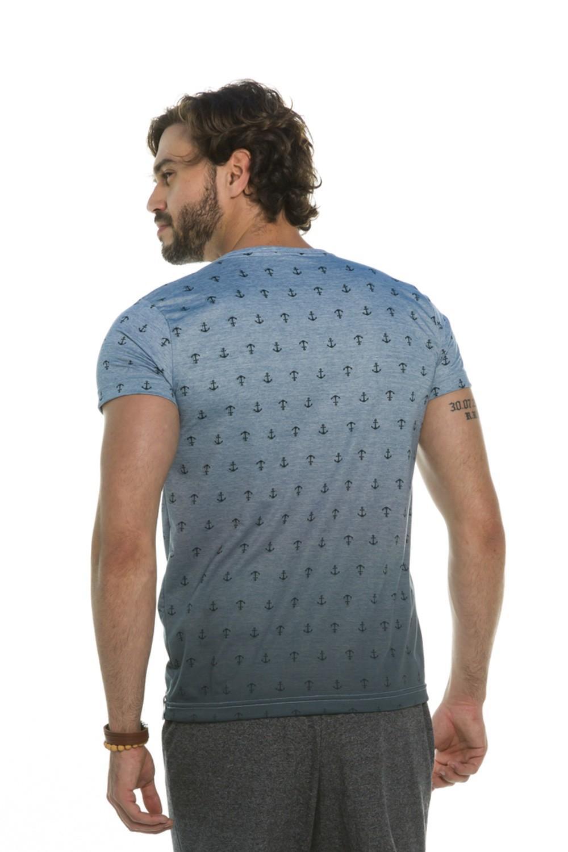 Camiseta Degradê Âncoras