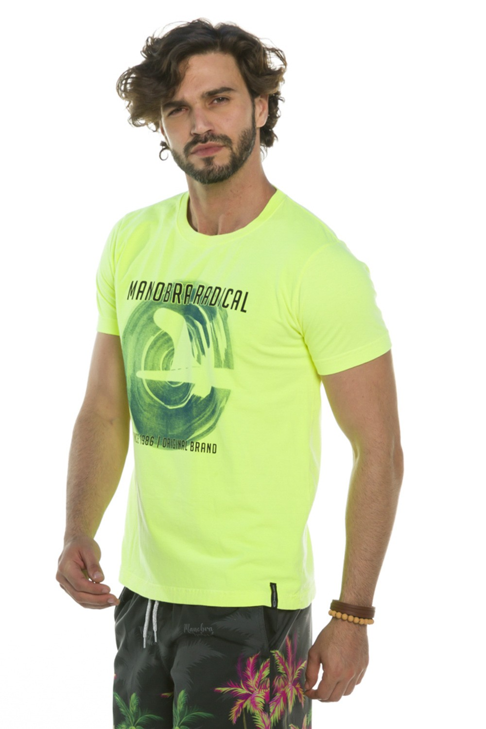Camiseta Estampada Wave