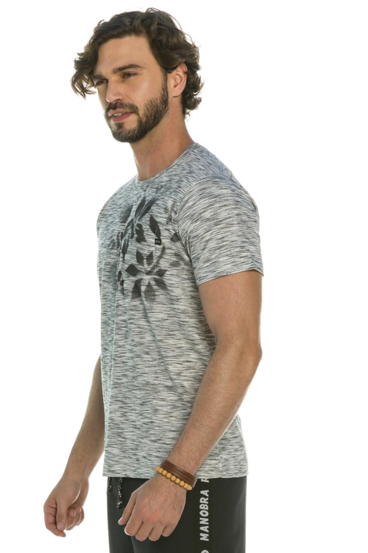 Camiseta Flowered Pocket
