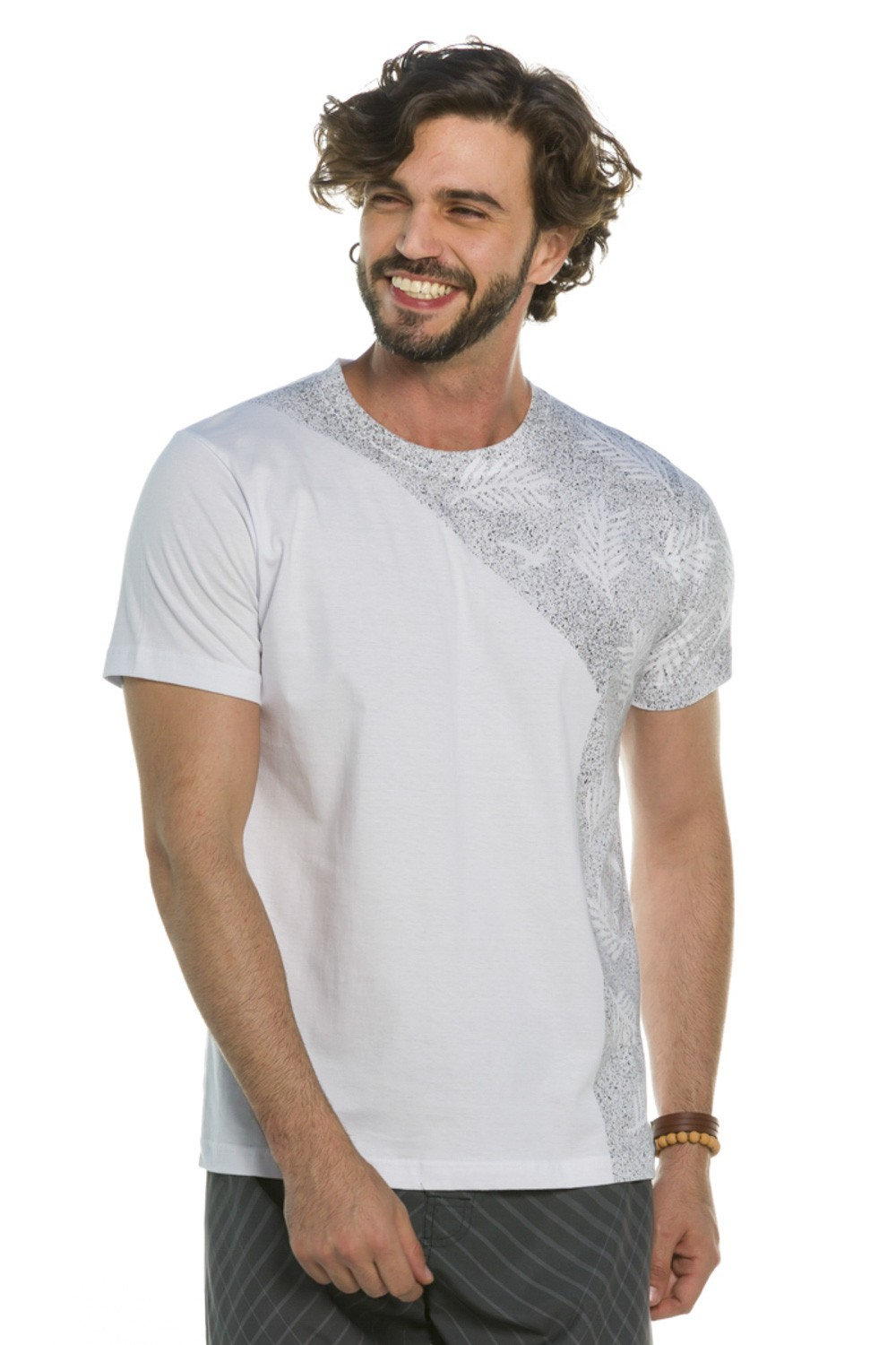 Camiseta Foliage Splash