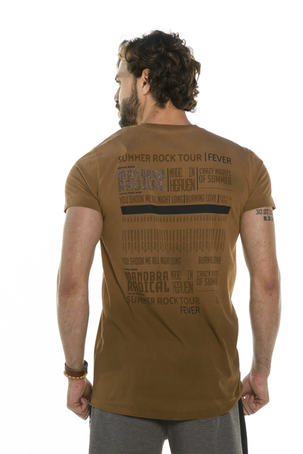 Camiseta Long Slim Summer Rock Tour