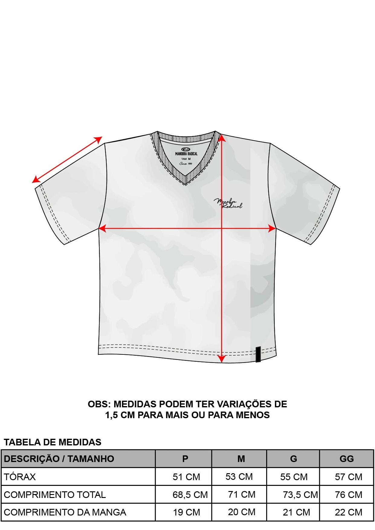 Camiseta MNB Decote V
