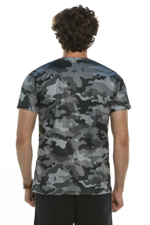 Camiseta Slim Camuflada