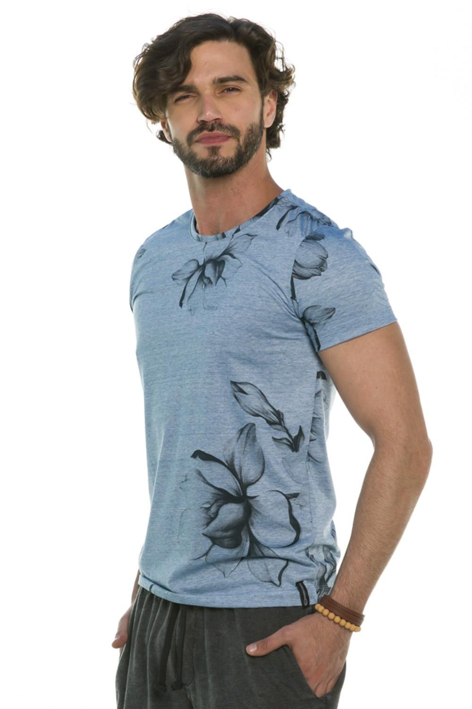 Camiseta Slim Floral