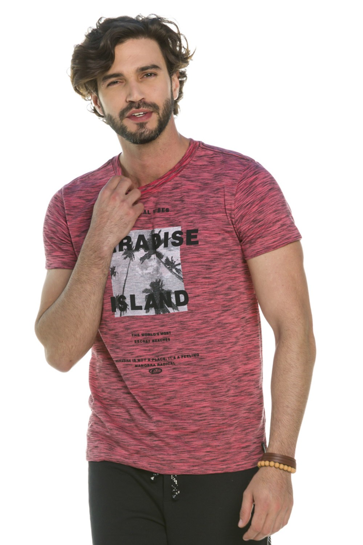 Camiseta Slim Paradise Island