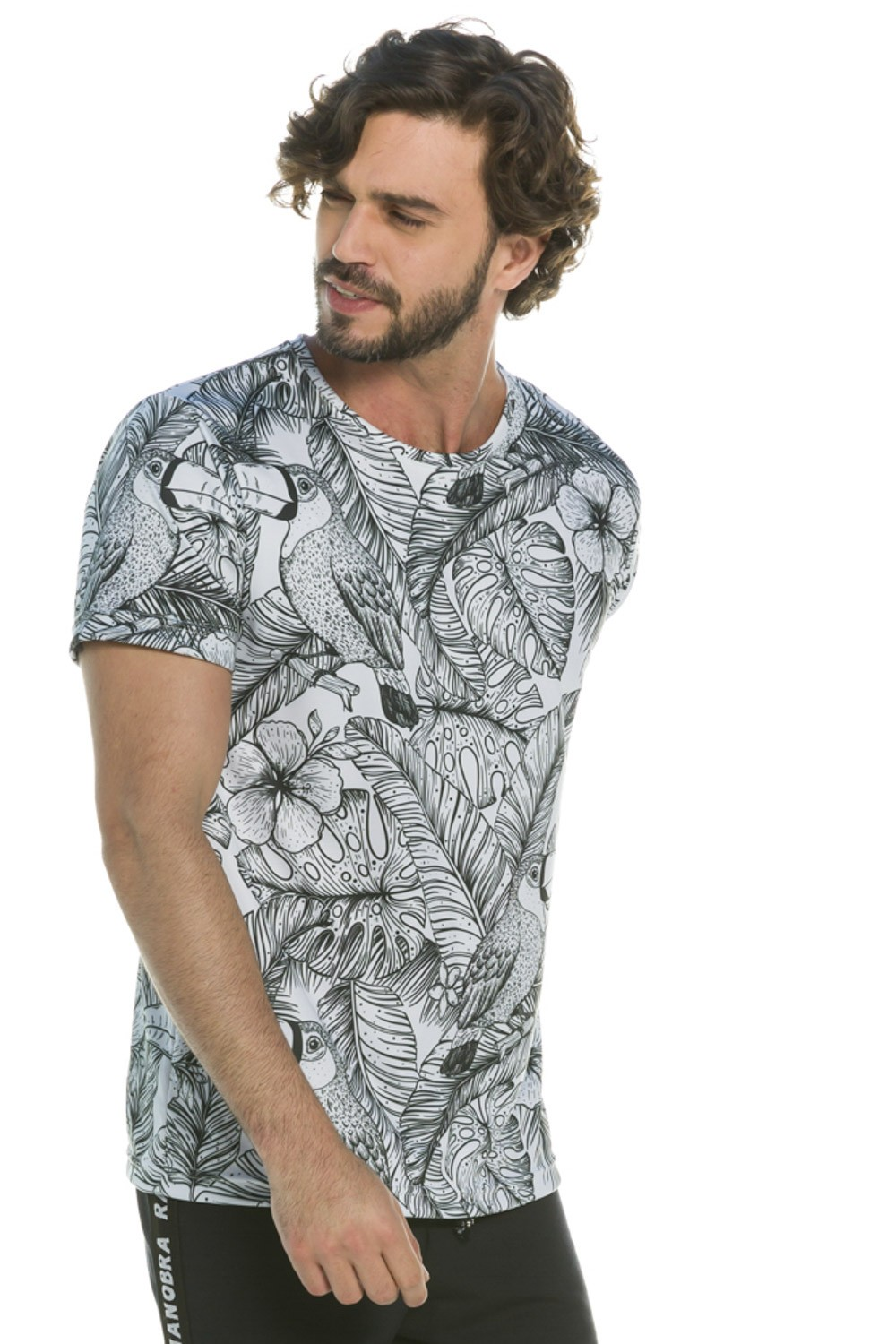 Camiseta Slim Tucano Tropical