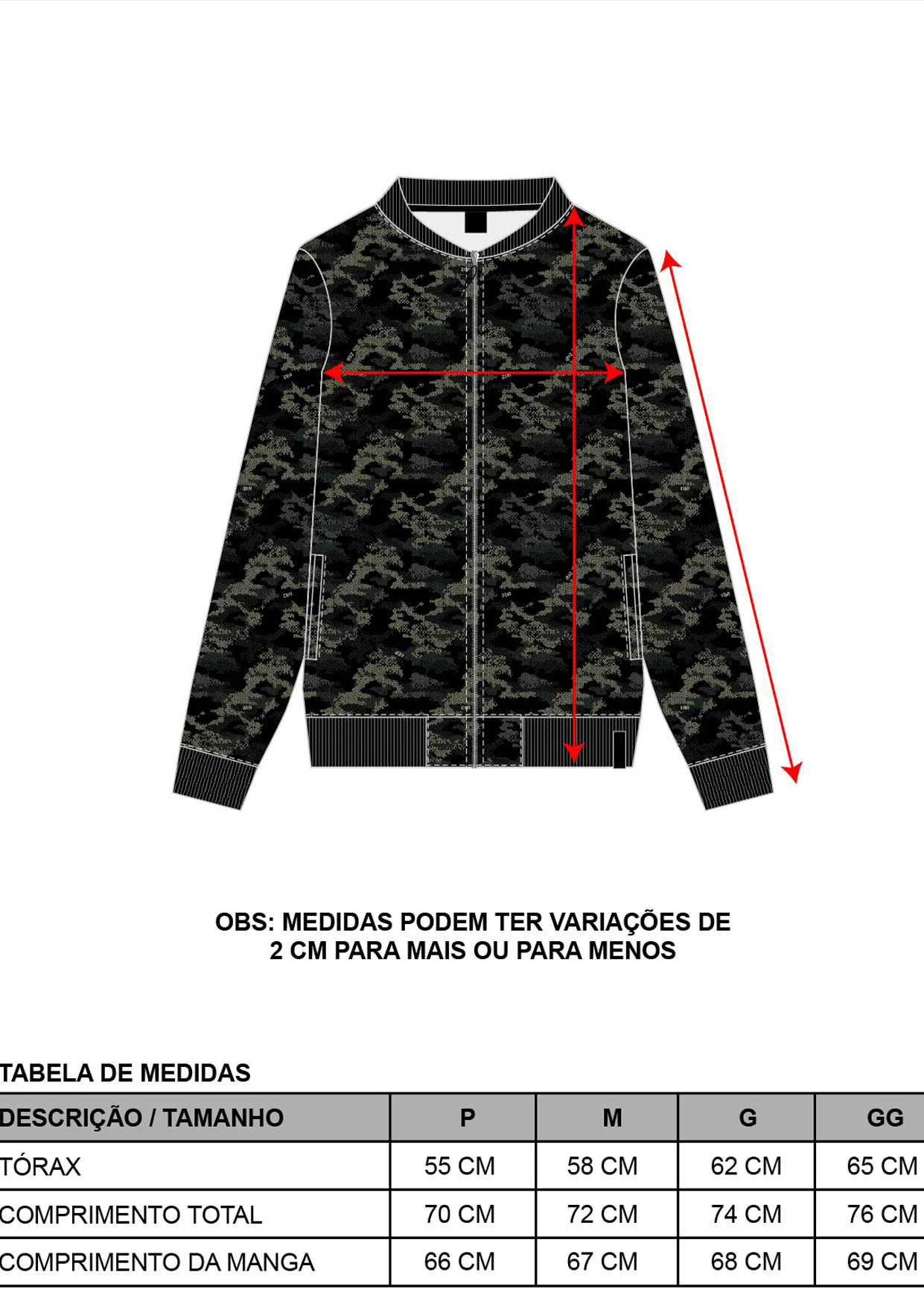 Jaqueta Bomber Corta Vento Masculina Camuflado Pixel