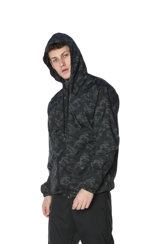 Jaqueta Corta Vento Masculina Camuflado Pixel