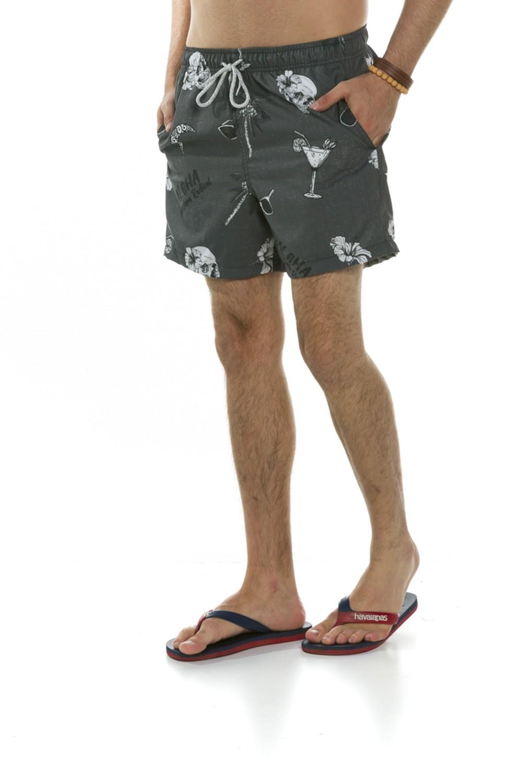 Short Masculino Caveiras