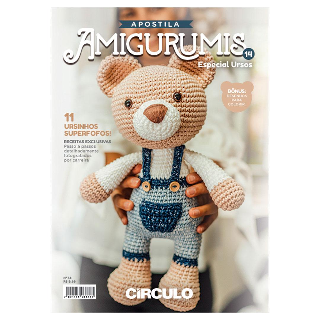 Apostila de Amigurumi No 14  da Círculo - Especial Ursos