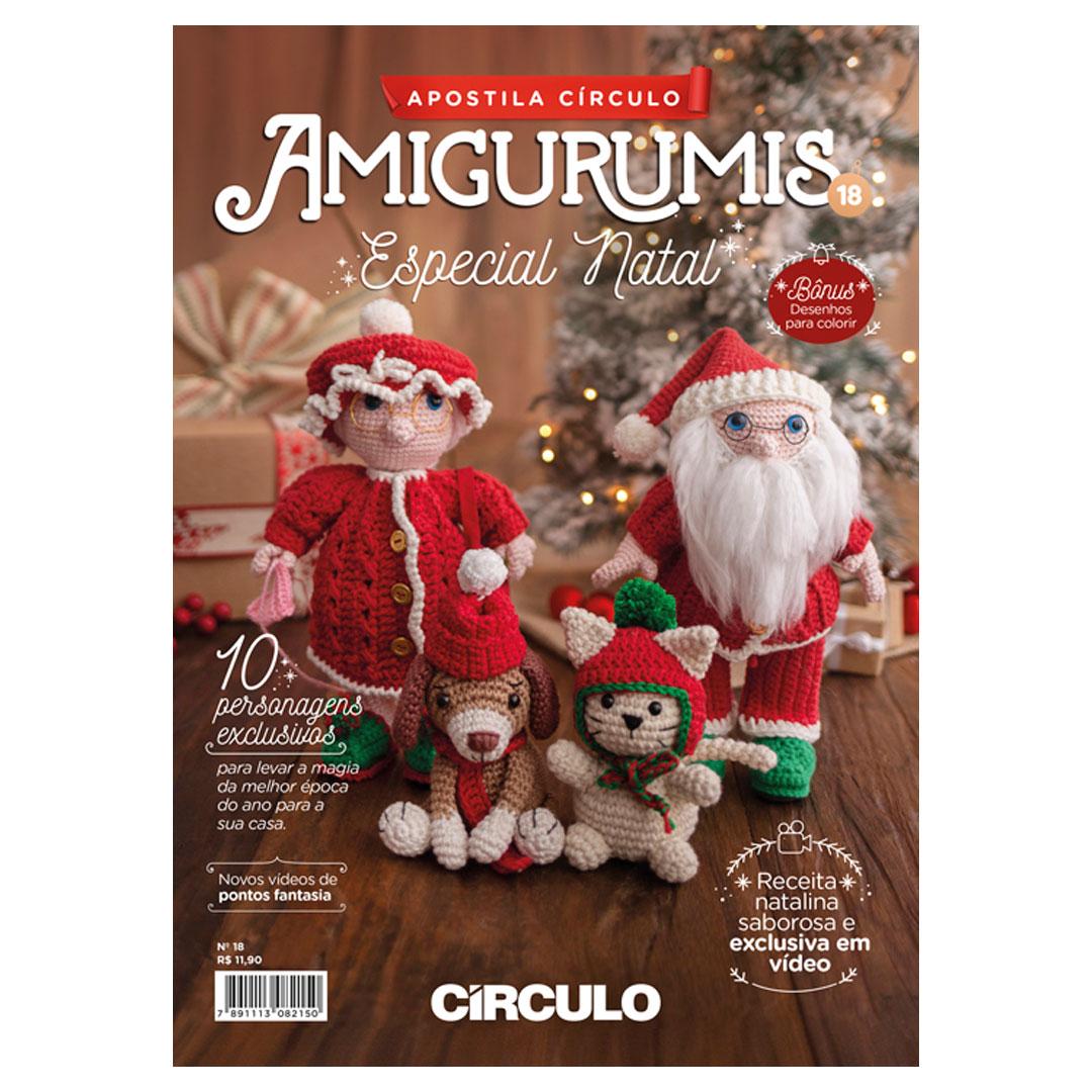Apostila de Amigurumi No 18 da Círculo - Especial Natal
