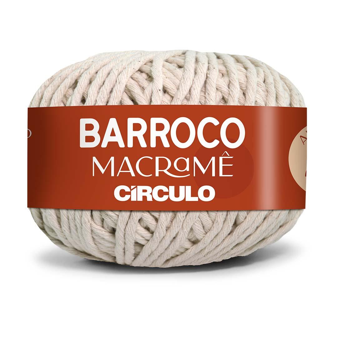 Barbante Barroco Macramê Cru 500g Circulo [PRÉ-VENDA]