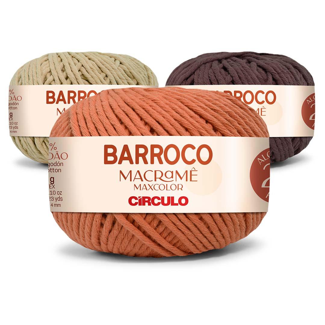 Barbante Barroco Macramê Maxcolor 400g Circulo