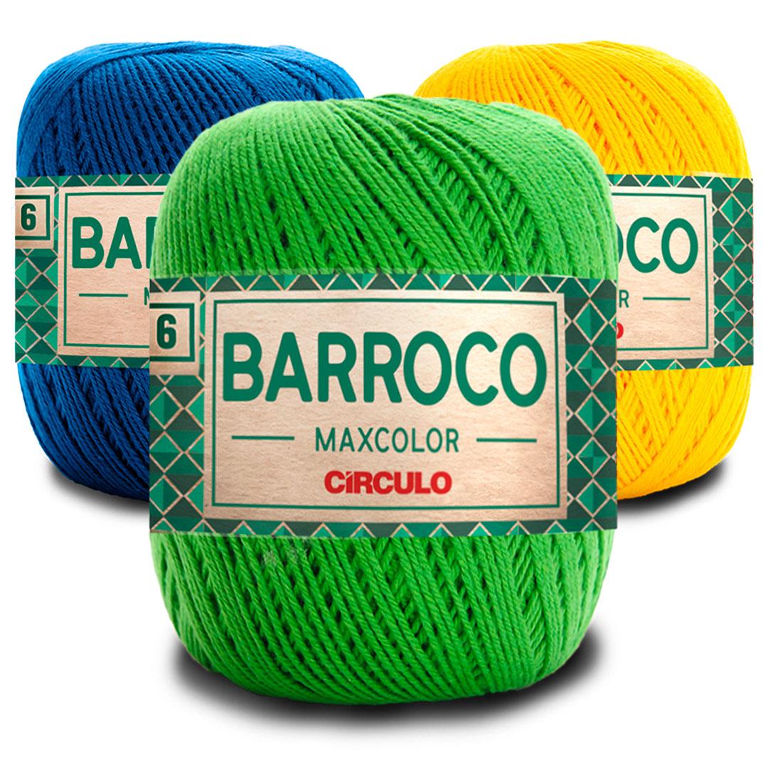 Barbante Barroco Maxcolor 6 Fios 200g Círculo
