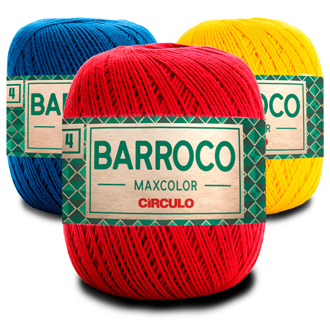 Barbante Barroco Maxcolor Nº 4 200g Circulo