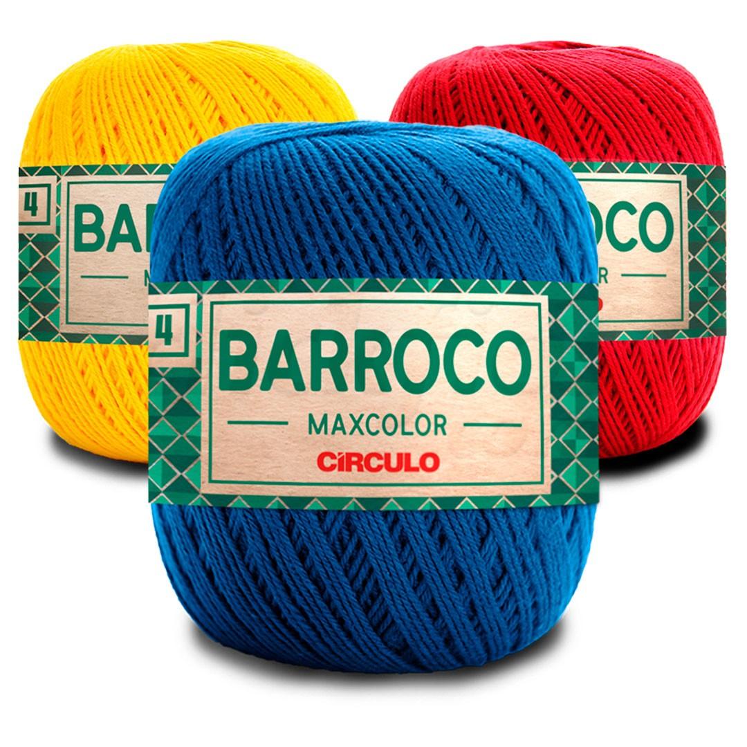 Barbante Barroco Maxcolor 4 Fios 200g Círculo