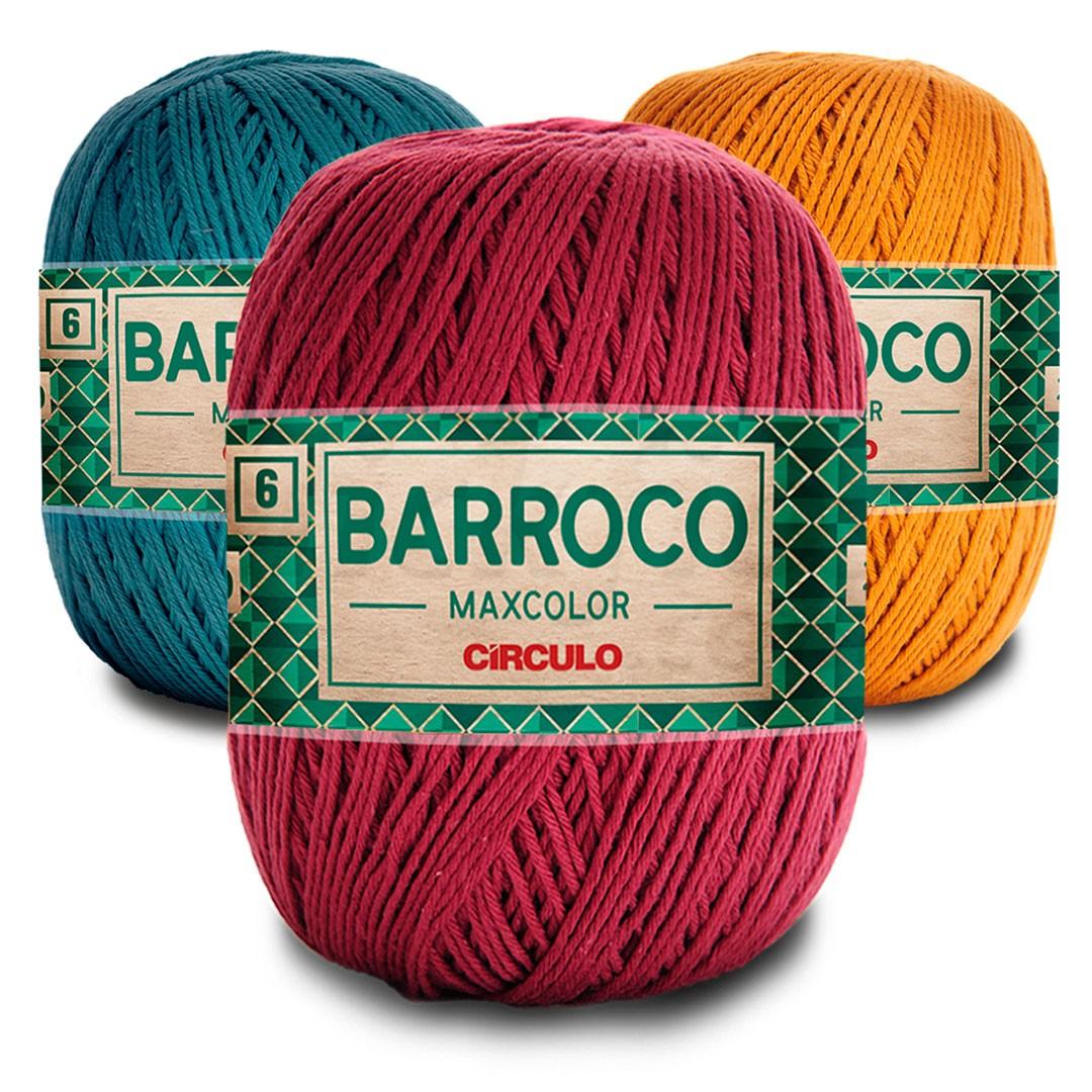 Barbante Barroco Maxcolor 6 Fios 400g Círculo