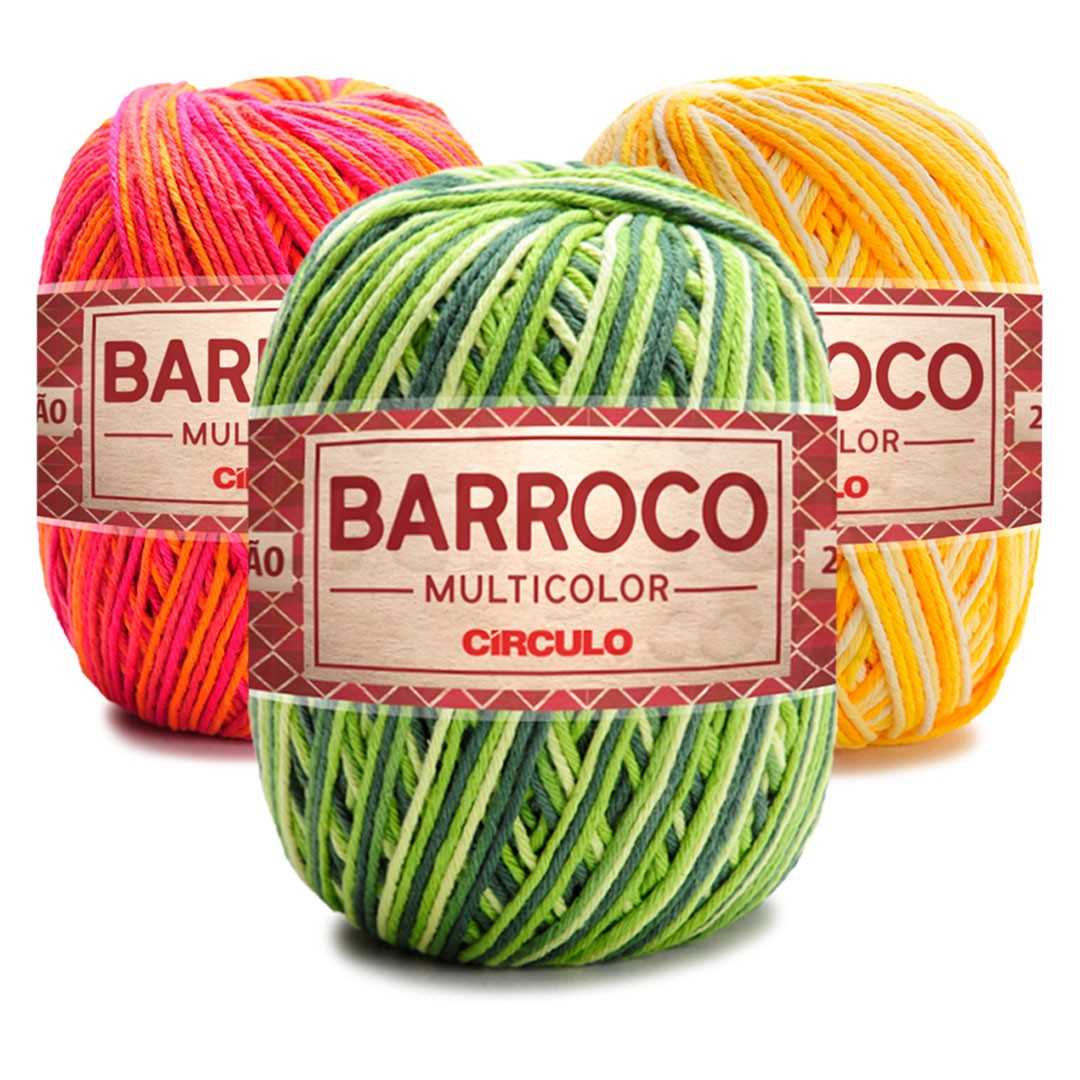 Barbante Barroco Multicolor 400g Circulo
