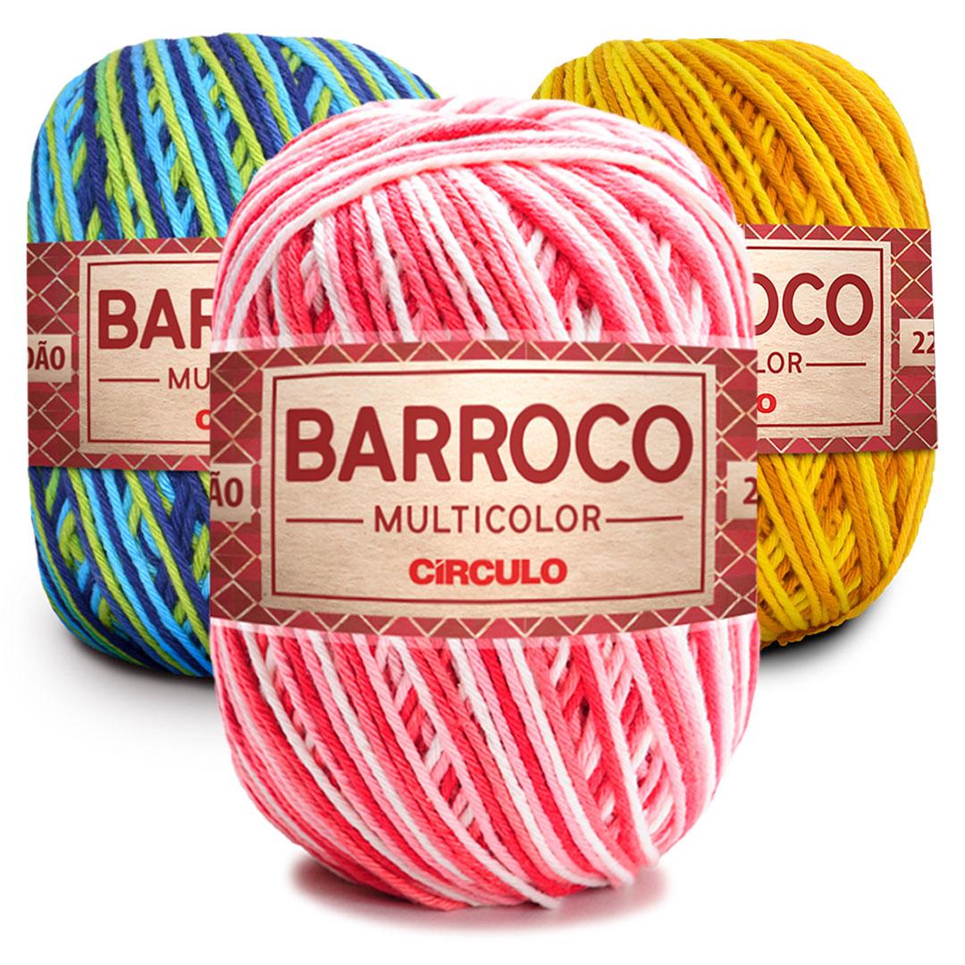 Barbante Barroco Multicolor 400g Circulo