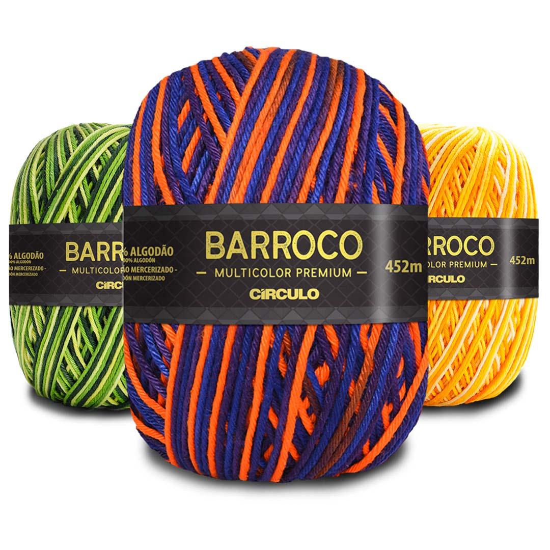 Barbante Barroco Multicolor Premium 200g Circulo