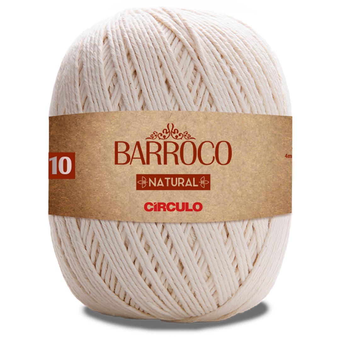 Barbante Barroco Natural Circulo Nº 10 700g