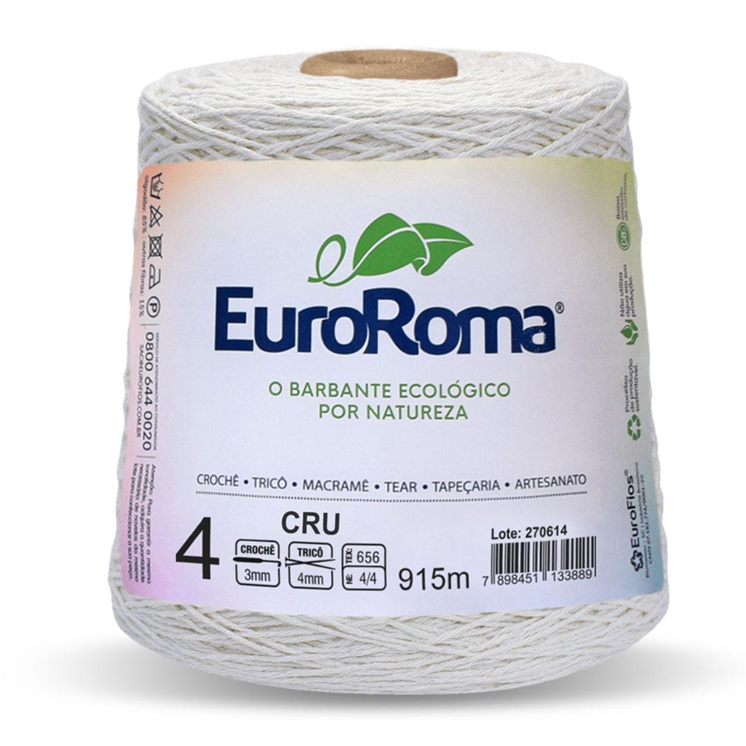 Barbante Cru Nº 4 Euroroma 600g