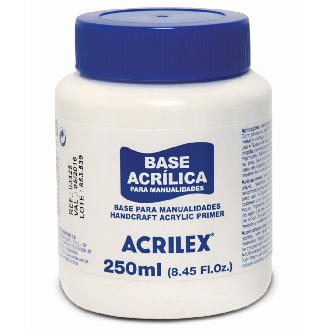 Base Acrilica 250ml Ref. 03425 Acrilex