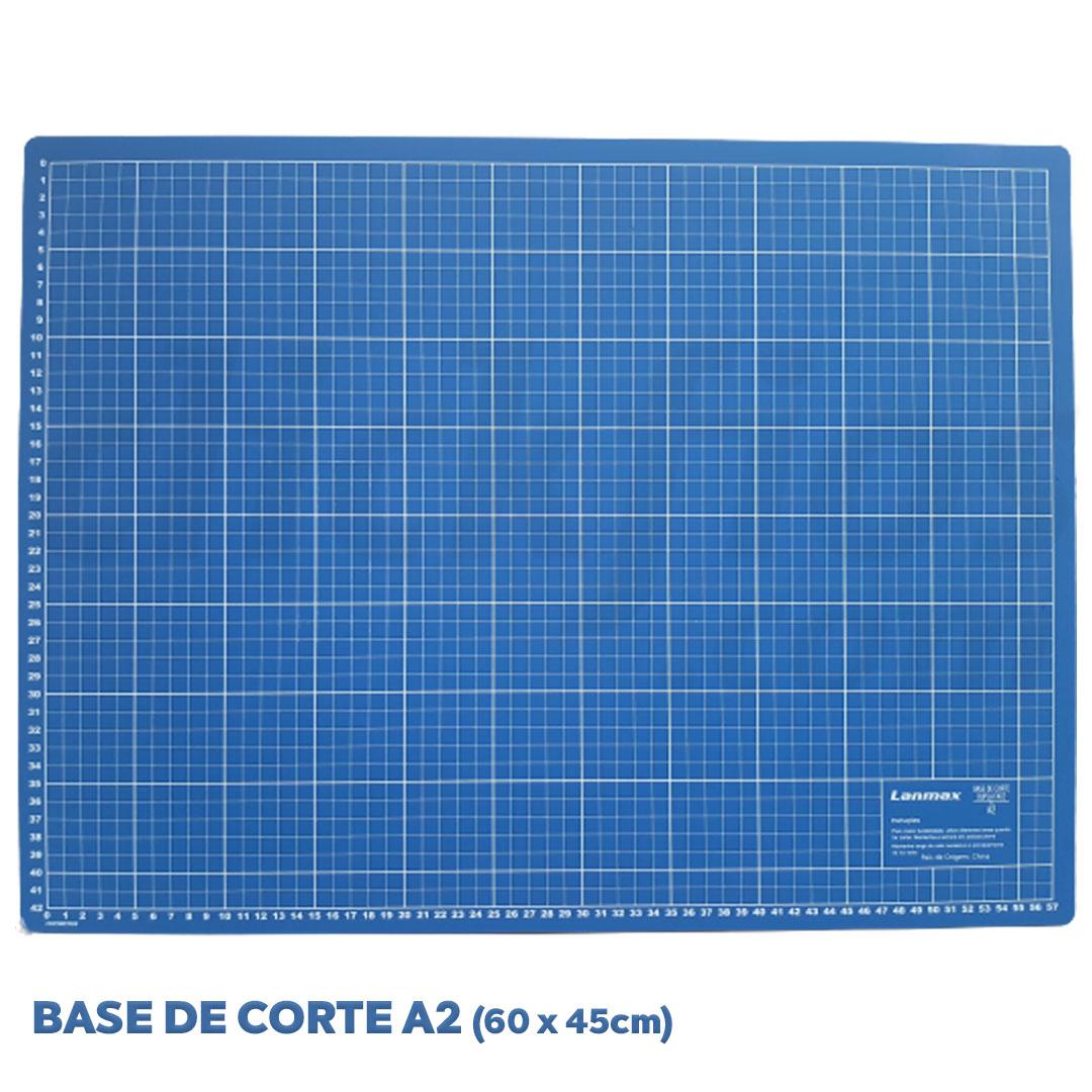 Base de Corte Dupla Face A2  med. 60 x 45 cm Lanmax
