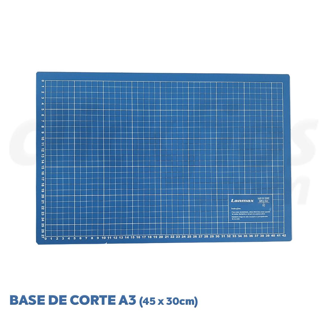Base de Corte Dupla Face A3  med. 45 x 30 cm Lanmax