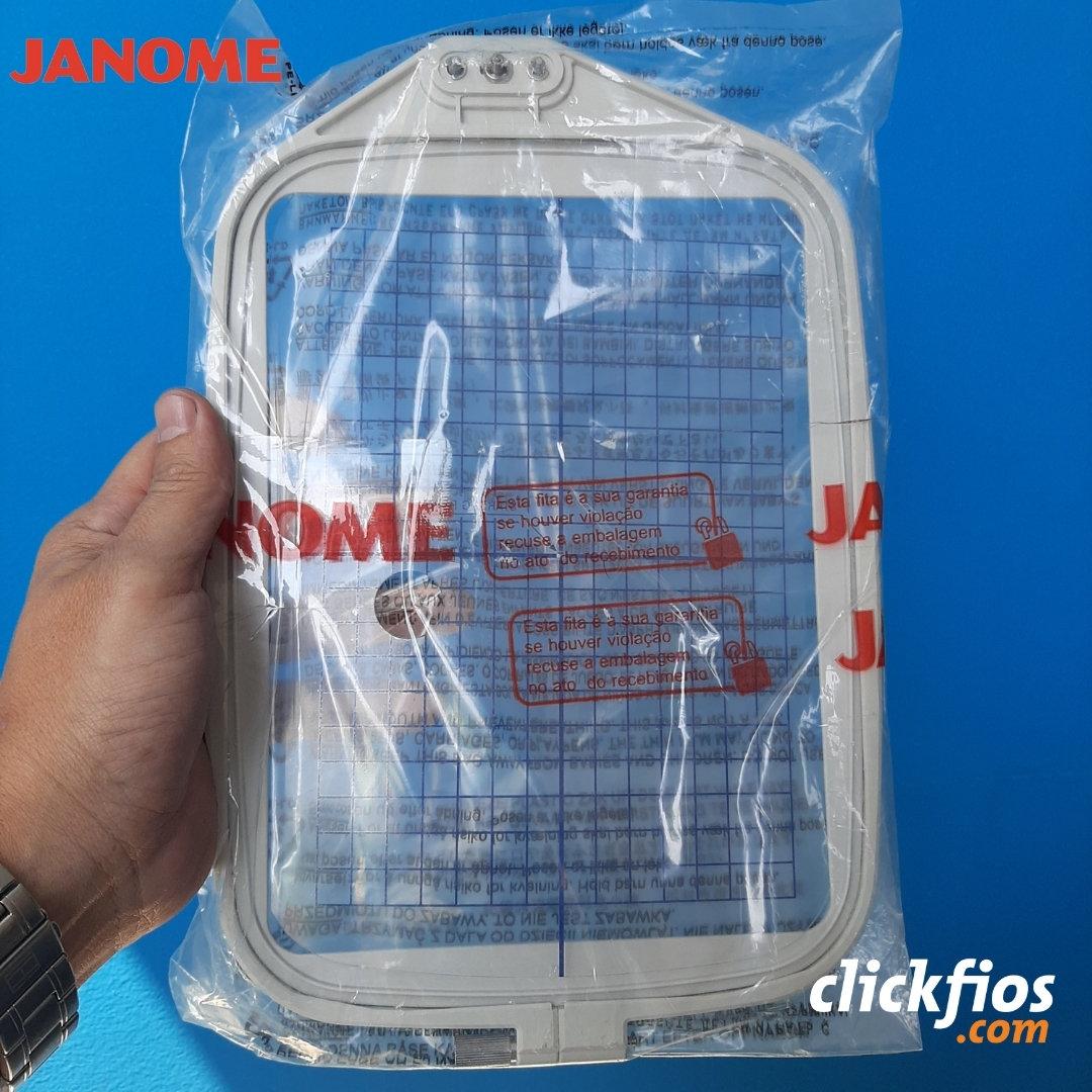Bastidor 20x14cm para máquinas de Bordar MC370E Ref. 850802010 Janome