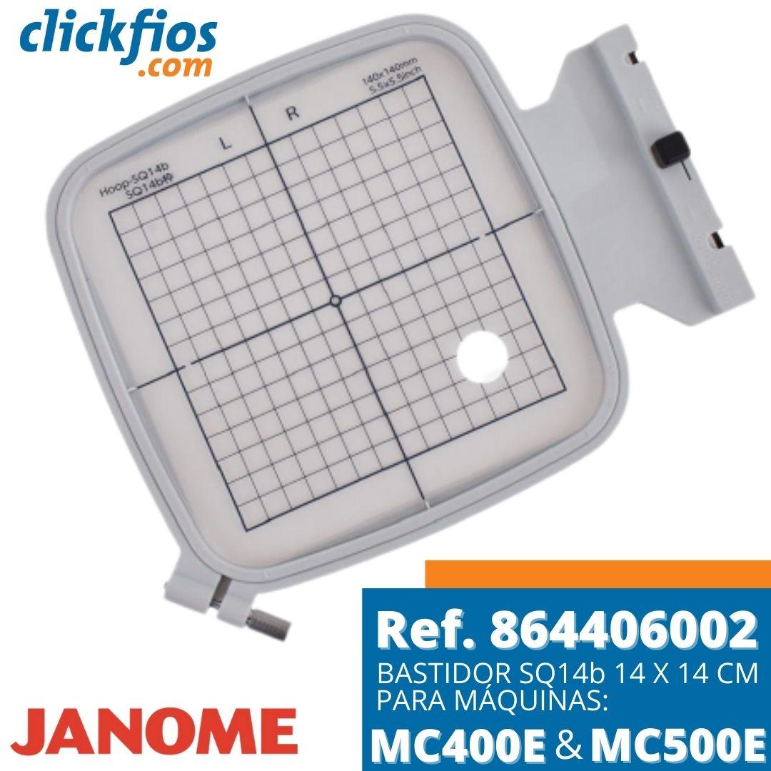 Bastidor para Máquina de Bordar SQ14b 14x14cm Ref. 864406002 Janome
