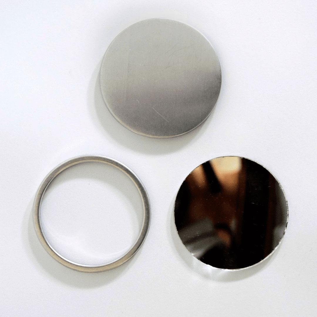 Button Espelho de 55mm (100 unidades) Cardenas