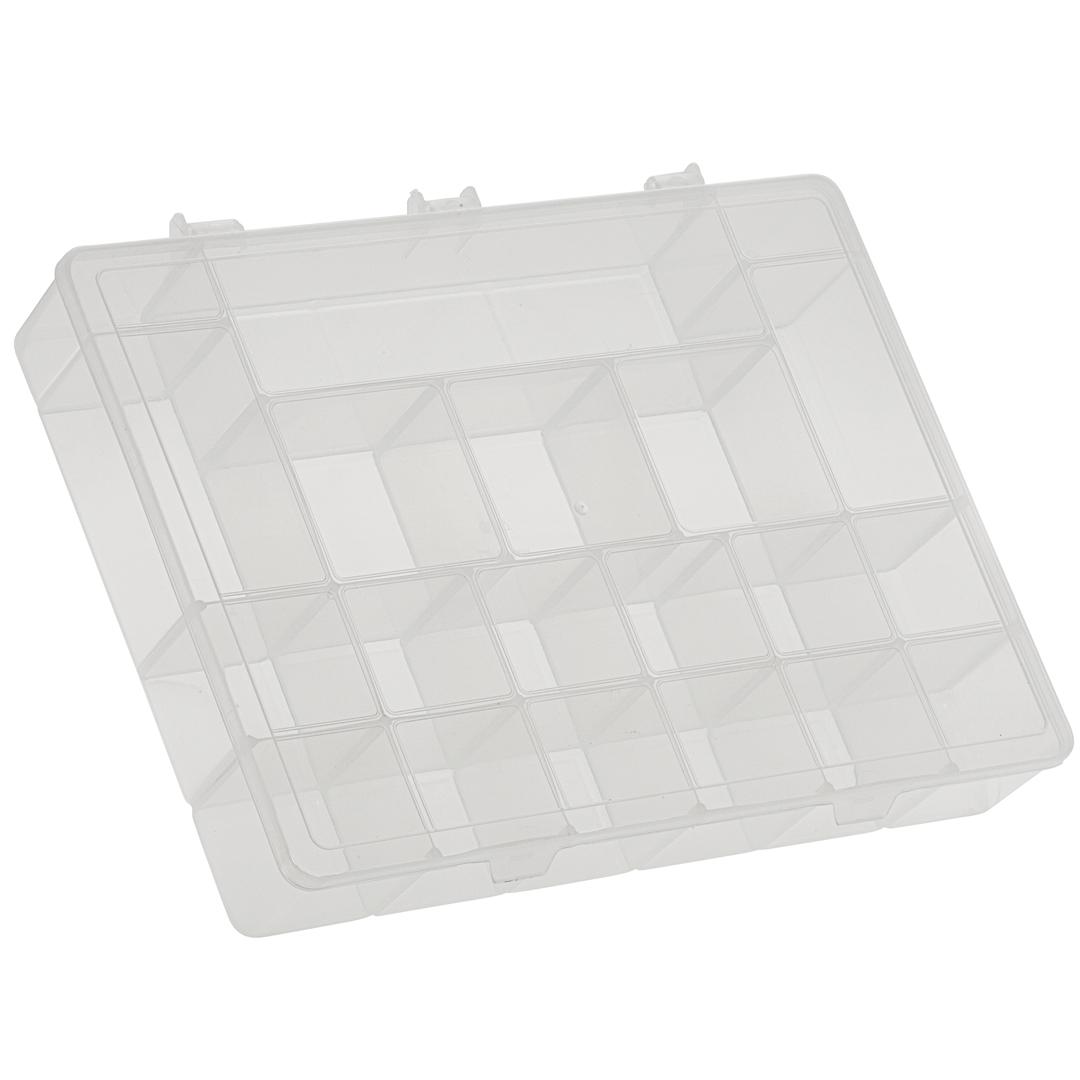 Caixa Box Organizadora Transparente Tam. GG Ref. 163 med. 37 cm x 27 cm x 6 cm - Paramount
