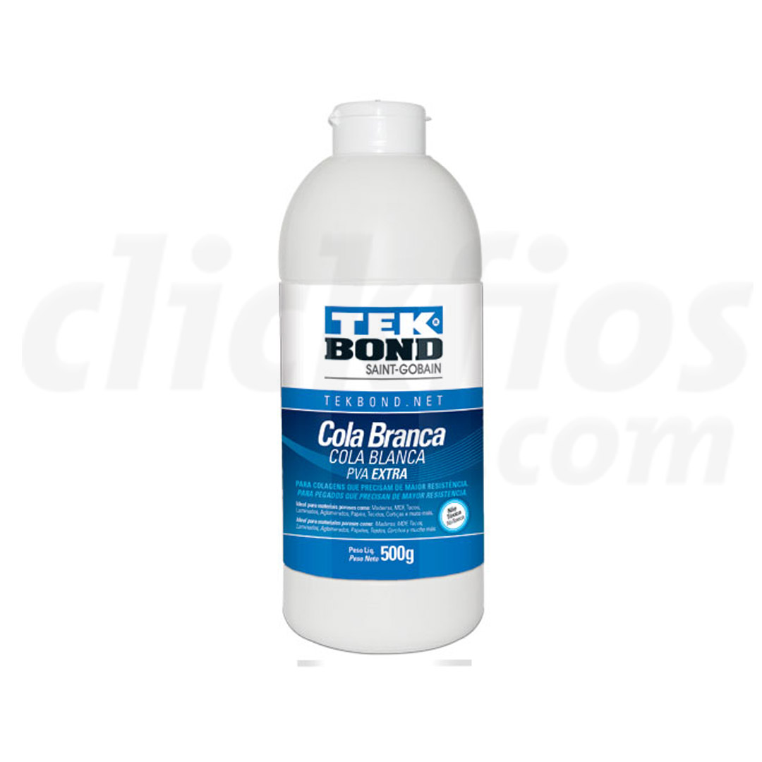 Cola Branca PVA Extra 500g Tek Bond