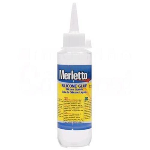 Cola de Silicone Líquida 100ml - Merletto