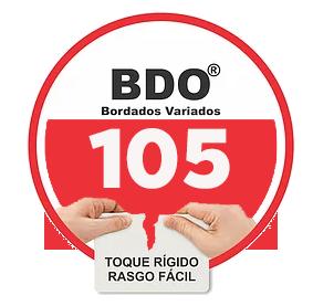 Entretela BDO 105 para bordado toque rígido com 100m Fiorella