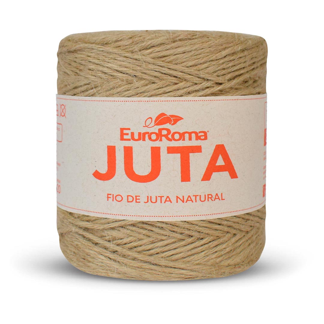 Fio de Juta Natural EuroRoma 125m