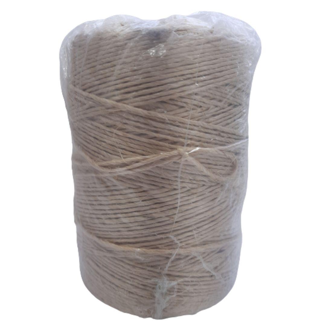 Fio de Sisal 500/1 Natural Rasado rolo c/ 1Kg