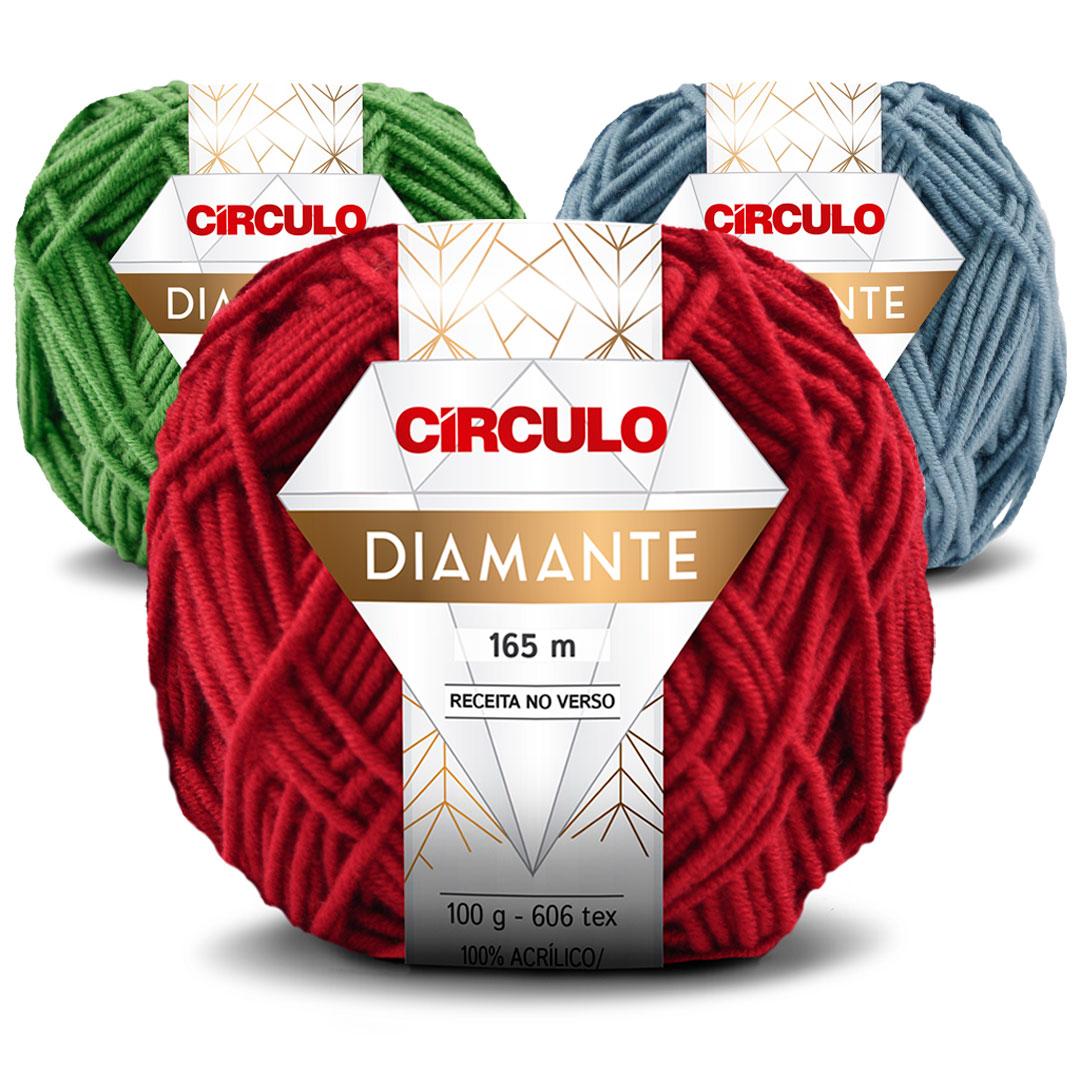 Fio Diamante Circulo 100g