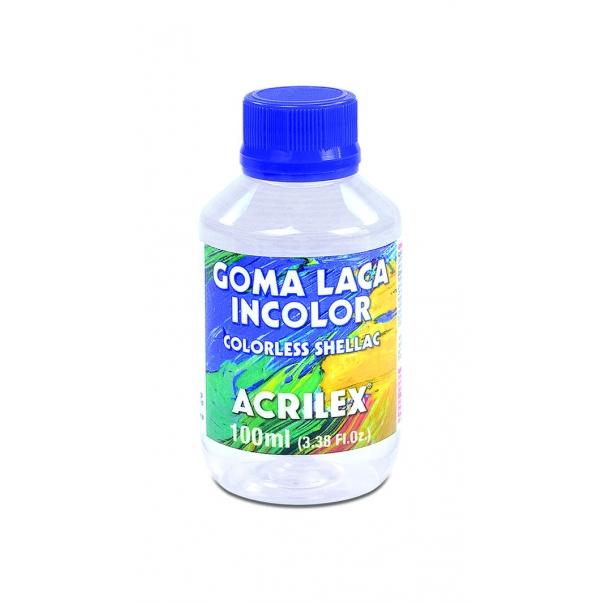 Goma Laca Incolor Acrilex 100ml Ref. 17110