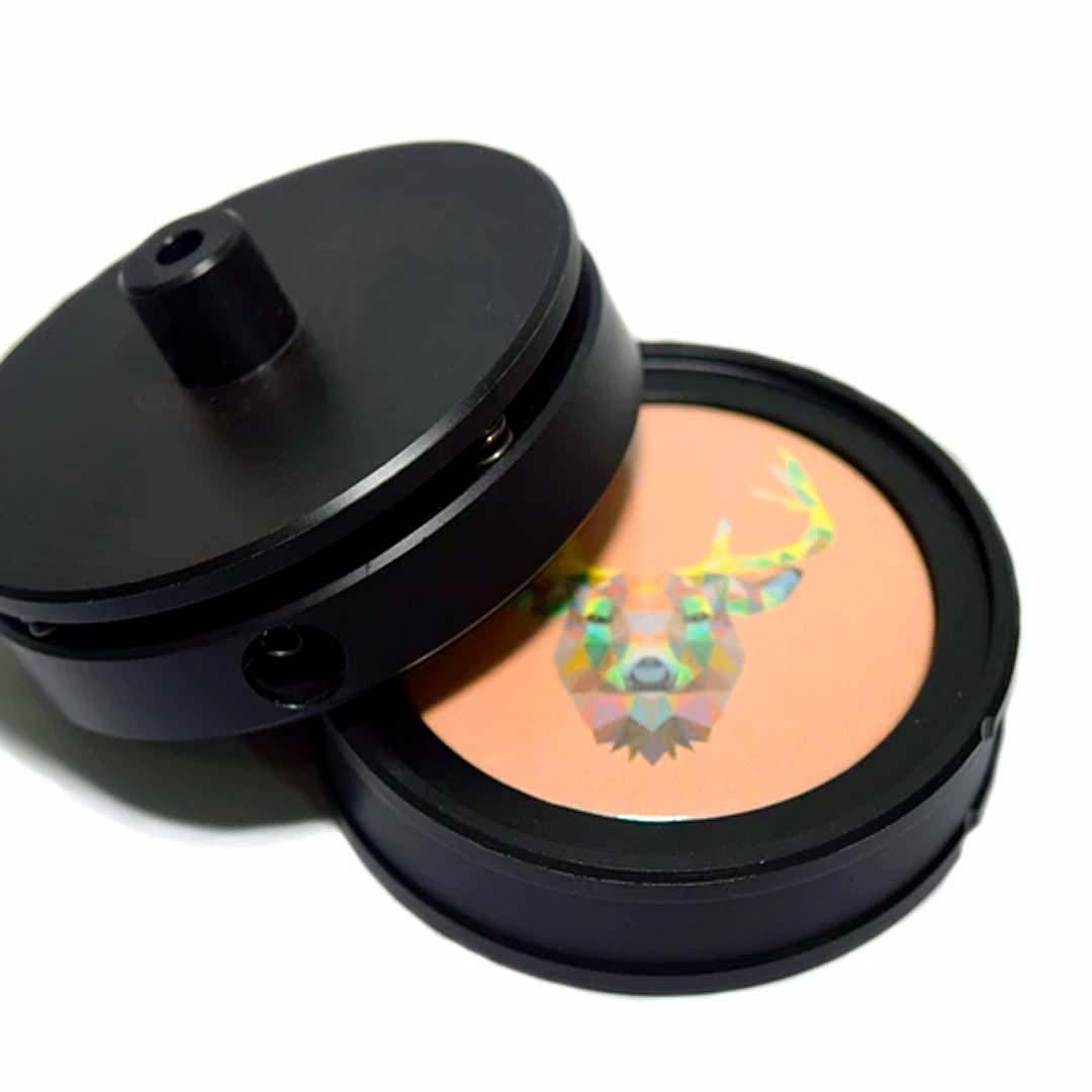 Kit Button COMBO com Kit 38 mm + Matriz Duplex 55 mm + Buttons variados
