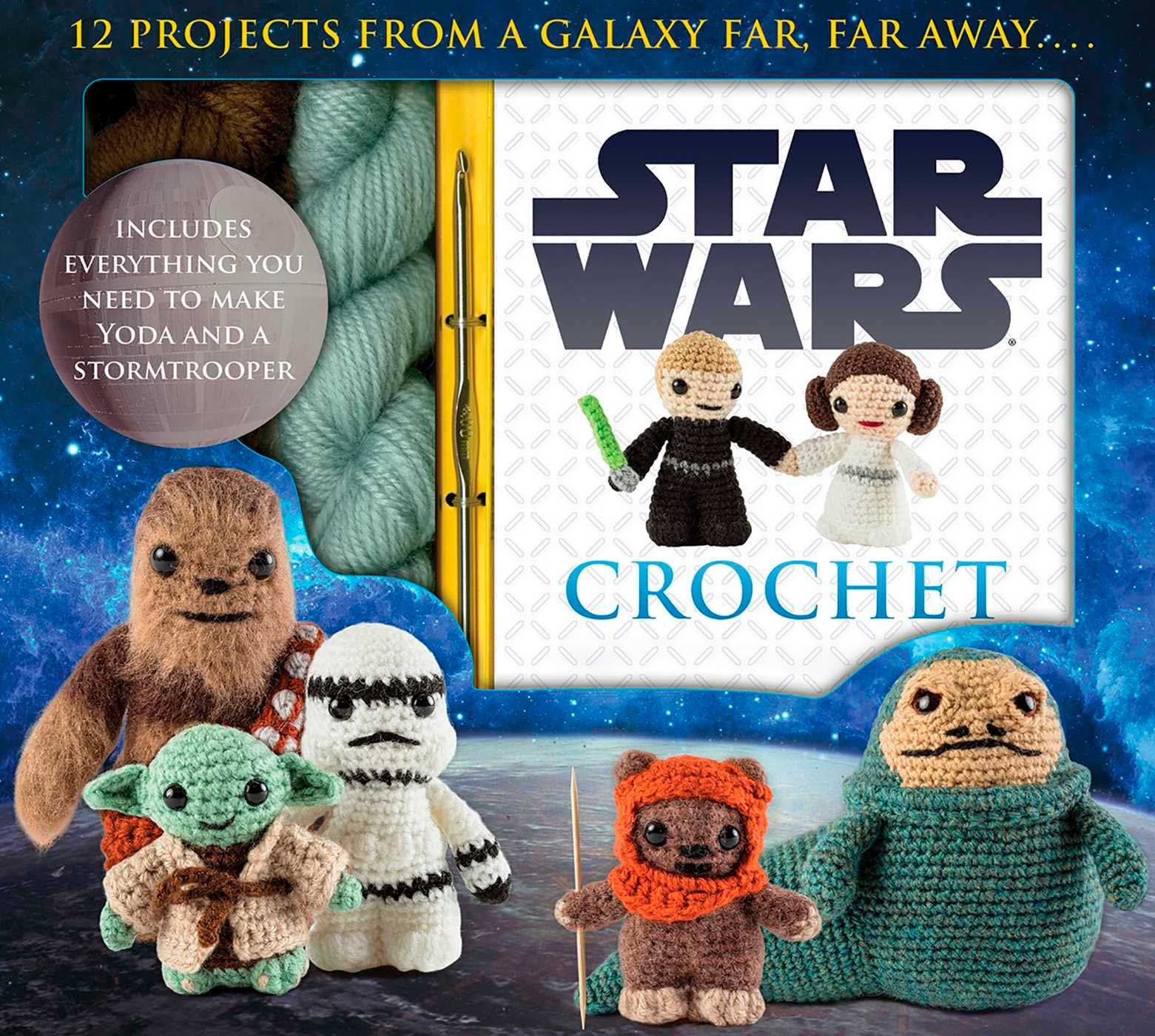 Kit Passo a Passo de Crochê Amigurumi do Star Wars
