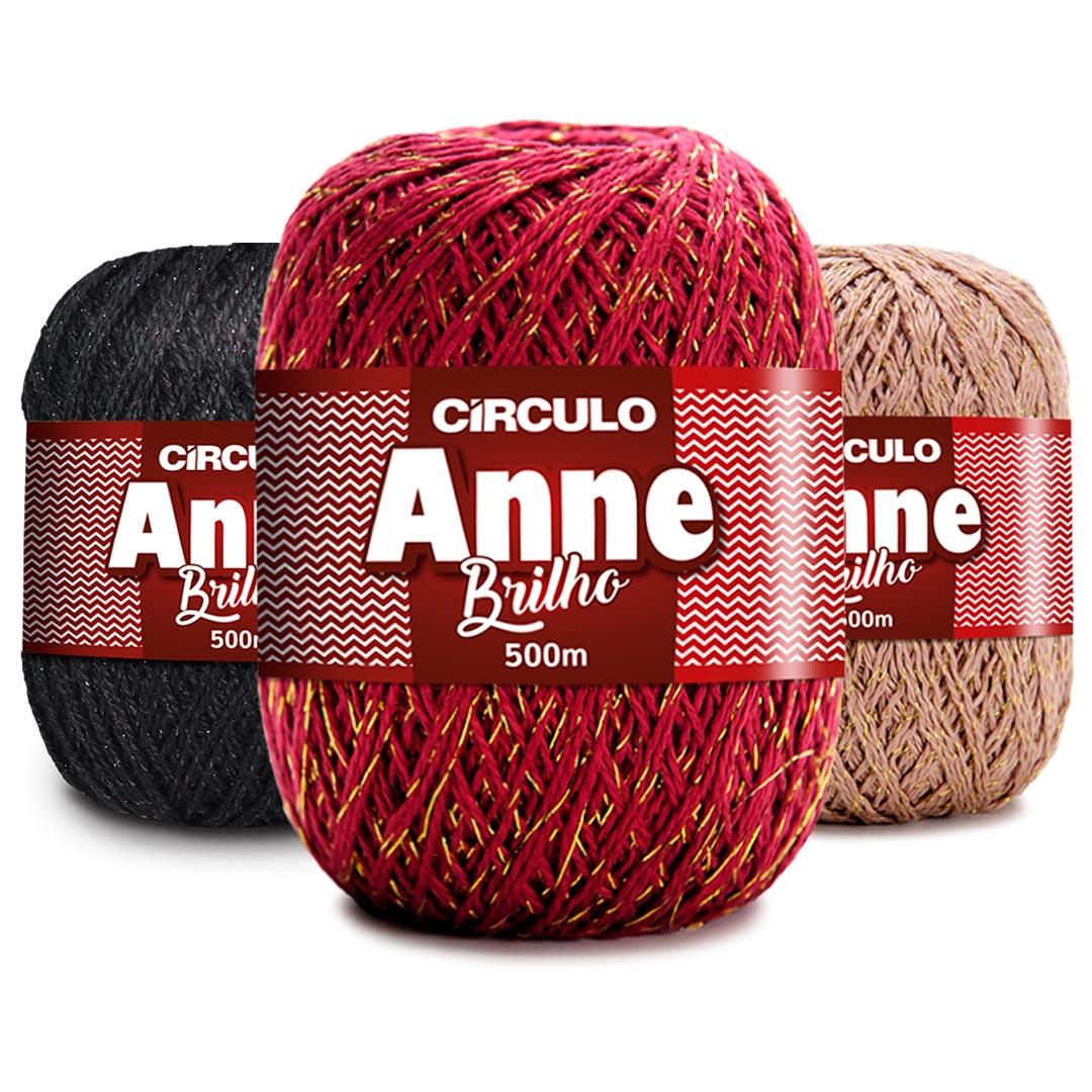 Linha Anne Brilho Circulo