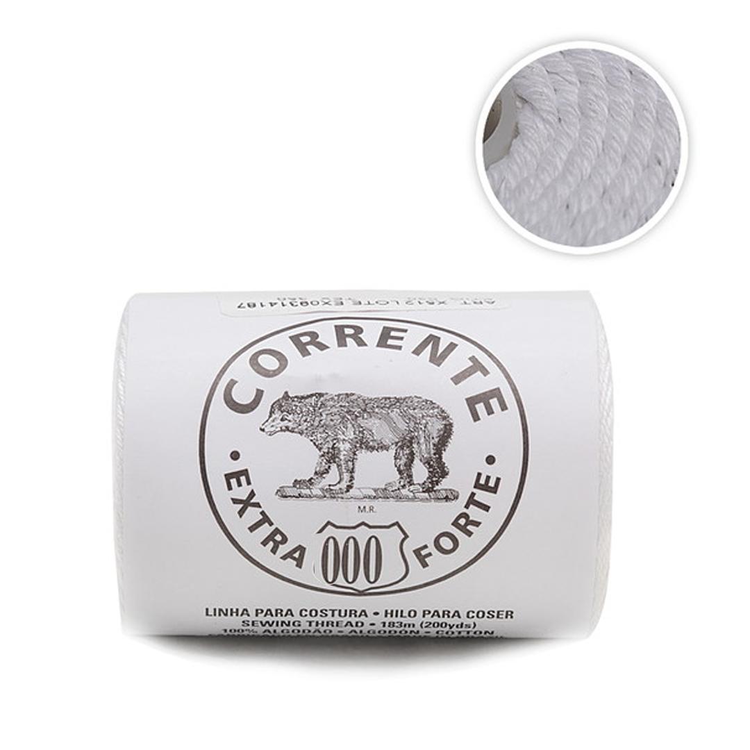 Linha Corrente Extra Forte Urso nº 000 - 030 Coats Corrente