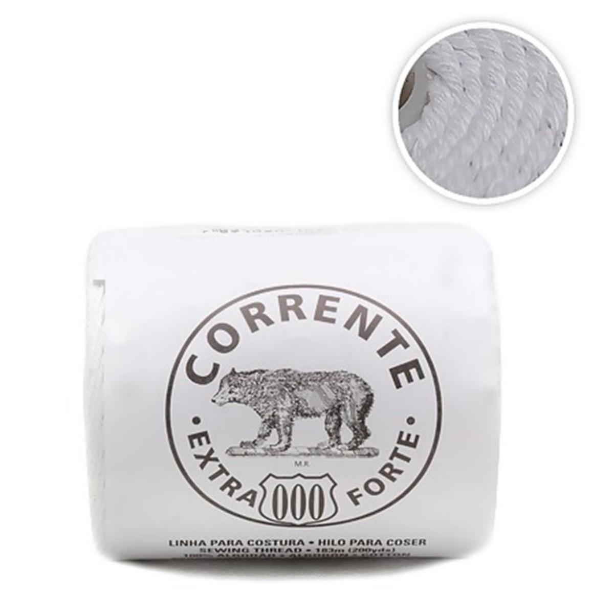 Linha Corrente Extra Forte Urso nº 000 Coats Corrente