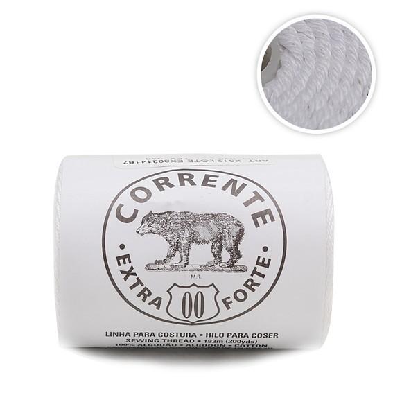 Linha Corrente Extra Forte Urso nº 00 - 020 Coats Corrente