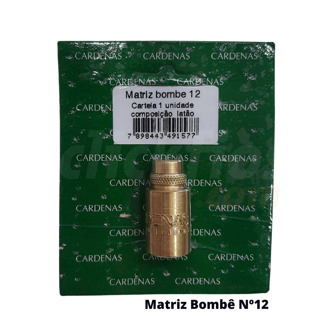 Matriz Botão Bombê Redondo para Forração de Botão 12mm - Cardenas