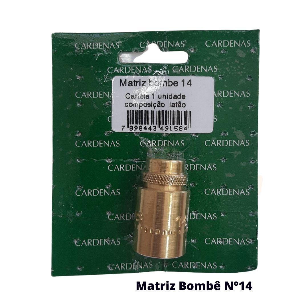 Matriz para Botão Bombê Redondo para forração de botão 14mm - Cardenas