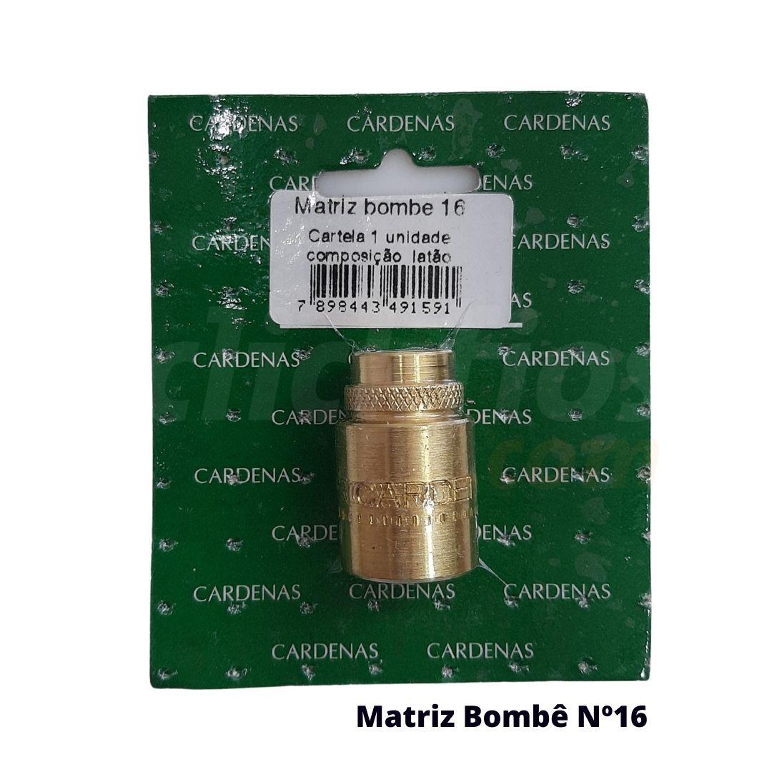Matriz para Botão Bombê Redondo para forração de botão 16mm - Cardenas